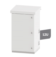 Outdoor Cabinets with Battery Compartment Alu